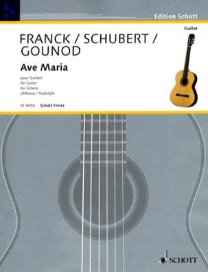 Ave Maria - Guitare - SCHUBERT - Partition - laflutedepan.com