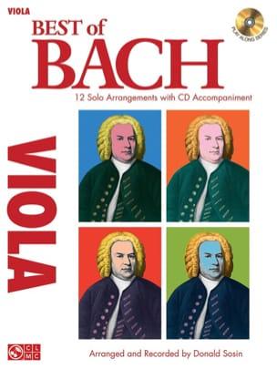 Best Of Bach - Viola - Donald Sosin - Partition - laflutedepan.com