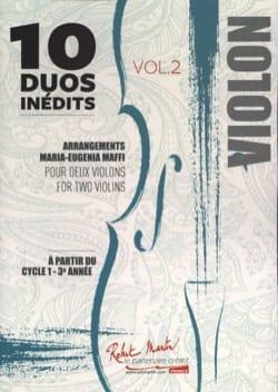 10 Duos Inédits - Volume 2 Partition Violon - laflutedepan