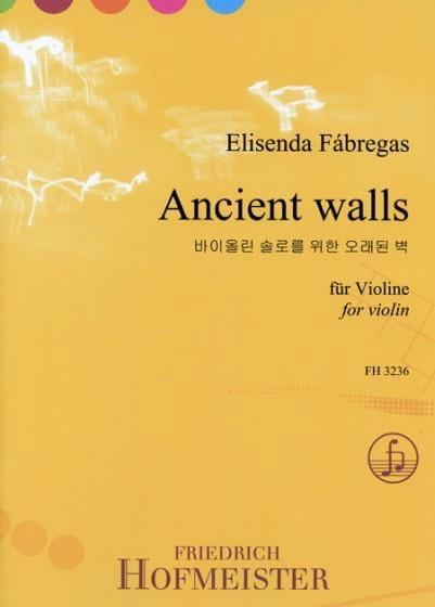 Ancient walls - Elisenda Fabregas - Partition - laflutedepan.com