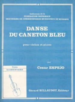 Danse du caneton bleu Cesar Espéjo Partition Violon - laflutedepan