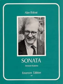Sonata Alan Ridout Partition Basson - laflutedepan