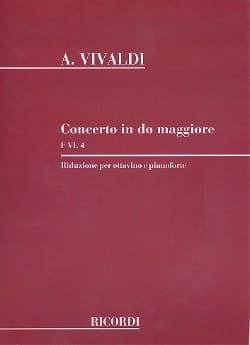 Concerto en Do Maj. - F. 6 n° 4 -Ottavino piano VIVALDI laflutedepan