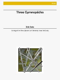 3 Gymnopédies - Flute Choir SATIE Partition laflutedepan