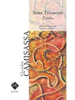 Suite Tricastine - Zamba Claudio Camisassa Partition laflutedepan