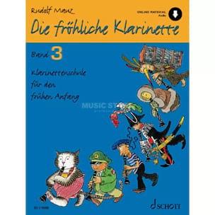 Die fröhliche Klarinette - Bd. 3 Rudolf Mauz Partition laflutedepan