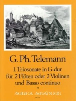 Triosonate Nr. 1 G-Dur -2 Flöten Violinen Bc - laflutedepan.com