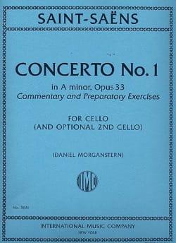 Concerto No. 1 en la mineur Op. 33 SAINT-SAËNS Partition laflutedepan