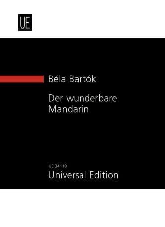 Der Wunderbare Mandarin - BARTOK - Partition - laflutedepan.com