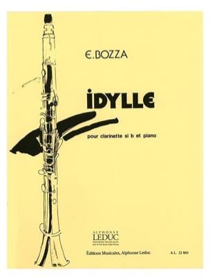 Idylle Eugène Bozza Partition Clarinette - laflutedepan