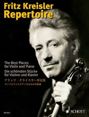Fritz Kreisler Repertoire Volume 1 KREISLER Partition laflutedepan
