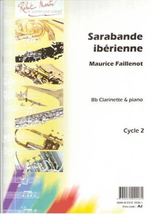 Sarabande ibérienne Maurice Faillenot Partition laflutedepan