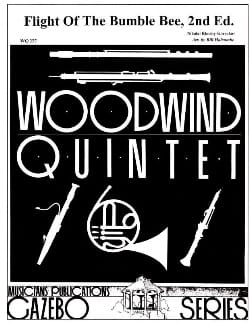 The flight of the bumble bee -Woodwind quintet laflutedepan