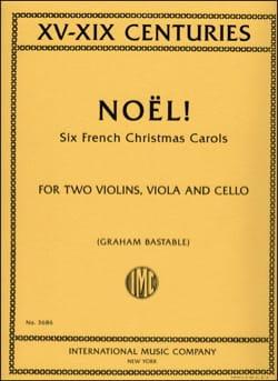 Noël ! Noëls français pour quatuor à cordes - laflutedepan.com