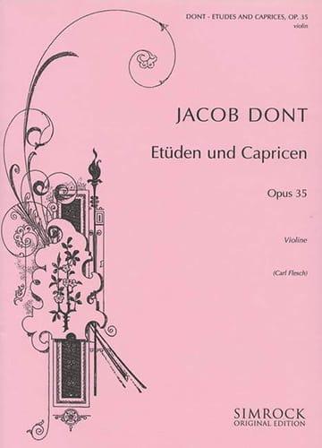 24 Etudes et Caprices op. 35 Flesch - Jacob Dont - laflutedepan.com