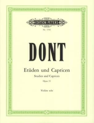 24 Etudes et caprices op. 35 Sitt Jacob Dont Partition laflutedepan