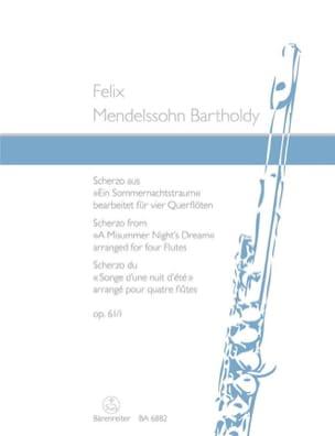 Scherzo aus Ein Sommernachtstraum op. 61/1 - 4 Flöten laflutedepan