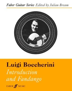 Introduction et Fandango BOCCHERINI Partition Guitare - laflutedepan