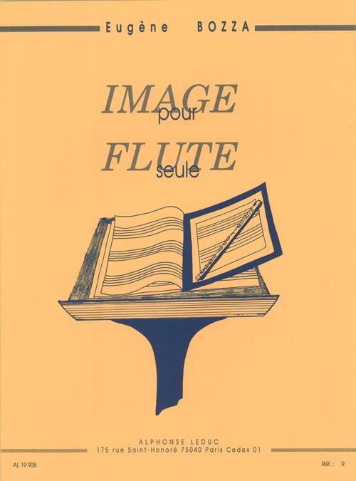 Image - Eugène Bozza - Partition - laflutedepan.com