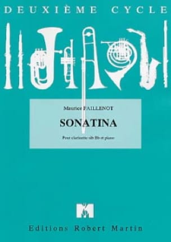 Sonatina - Maurice Faillenot - Partition - laflutedepan.com