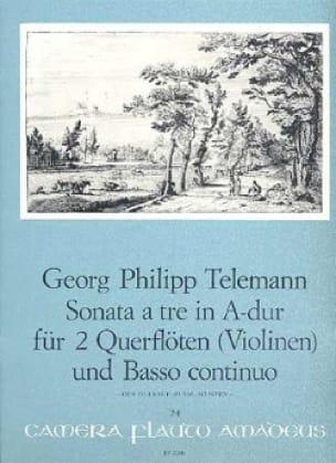 Sonata A Tre A-Dur La M. - 2 Flûtes Violons-B.C. - laflutedepan.com