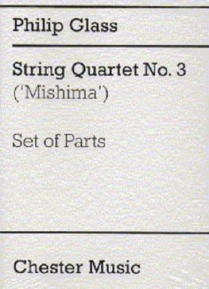 String Quartet n° 3 - Parts - GLASS - Partition - laflutedepan.com