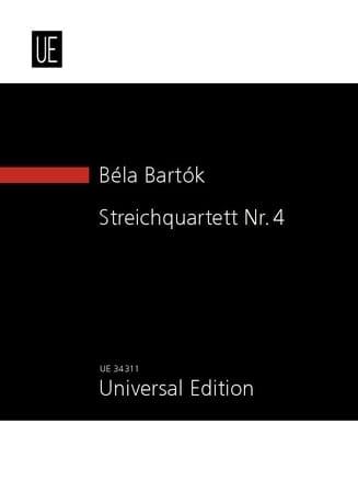 Quatuor à Cordes N° 4 - BARTOK - Partition - laflutedepan.com