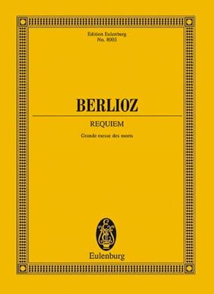Requiem Grande messe des morts BERLIOZ Partition laflutedepan