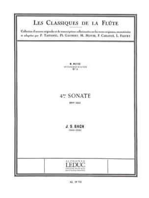 Sonate n° 4 do majeur BWV 1033 - Flûte piano BACH laflutedepan