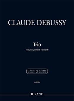 Trio - Violon, Violoncelle et Piano DEBUSSY Partition laflutedepan