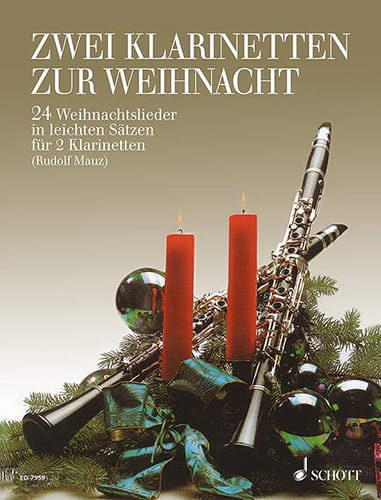 Zwei Klarinetten zur Weihnacht - Partition - laflutedepan.com