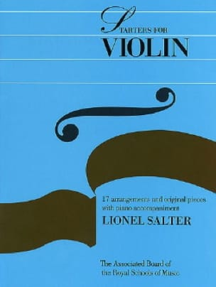 Starters For Violon - Violon et Piano - laflutedepan.com