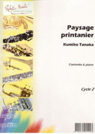 Paysage Printanier - Kumiko Tanaka - Partition - laflutedepan.com