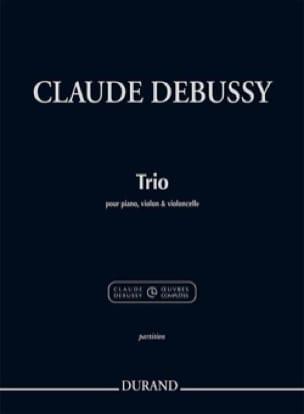 Trio - Violon, Violoncelle et Piano - DEBUSSY - laflutedepan.com