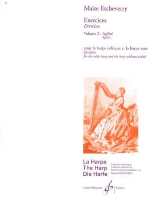 Exercices, Volume 2 - Agilité Maïté Etcheverry Partition laflutedepan