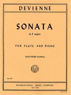 Sonata in F major - Flute piano DEVIENNE Partition laflutedepan