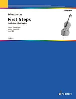 First Steps in Violoncello Playing, op. 101 Sebastian Lee laflutedepan