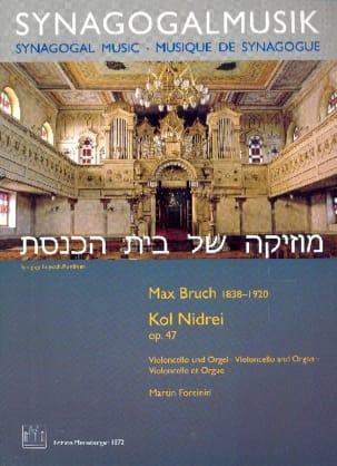 Max Bruch - Kol Nidrei - Cello and Organ - Partition - di-arezzo.co.uk