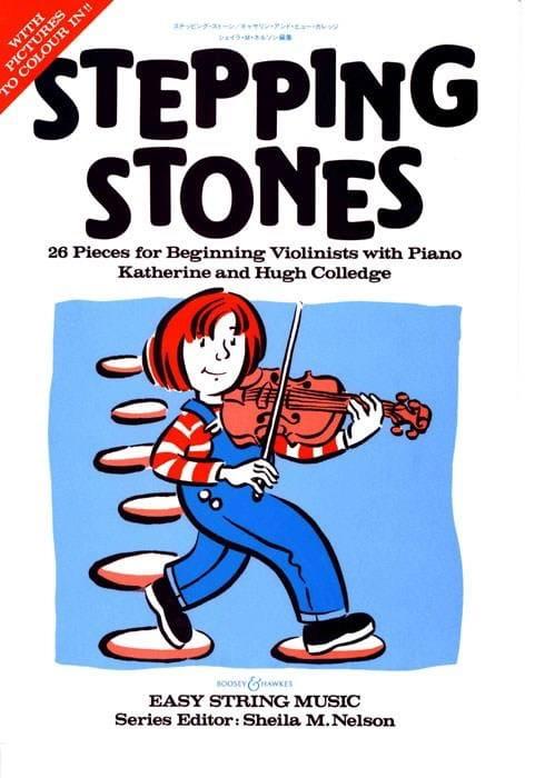 Stepping Stones - Violon et Piano - Partition - laflutedepan.com