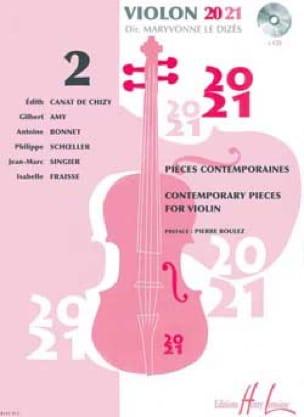 Violon 20-21 - Volume 2 - Dizès Maryvonne Le - laflutedepan.com