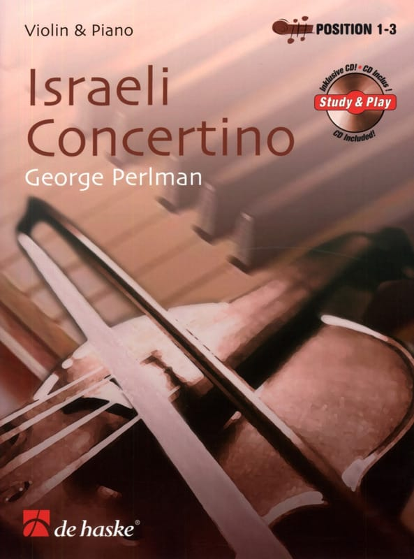 Israeli Concertino - George Perlman - Partition - laflutedepan.com