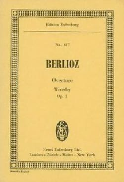 Waverley Ouverture, op. 1 - BERLIOZ - Partition - laflutedepan.com