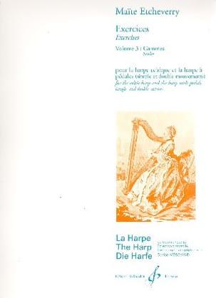 Exercices, Volume 3 - Gammes Maïté Etcheverry Partition laflutedepan