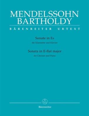 Sonate Es-Dur für Klarinette und Klavier MENDELSSOHN laflutedepan
