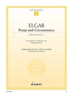 Pomp And Circumstance - Violoncelle ELGAR Partition laflutedepan