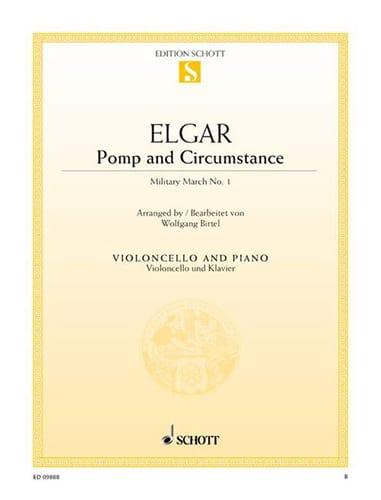 Pomp And Circumstance - Violoncelle - ELGAR - laflutedepan.com