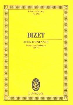 Jeux d'enfants Op. 22 BIZET Partition Petit format - laflutedepan