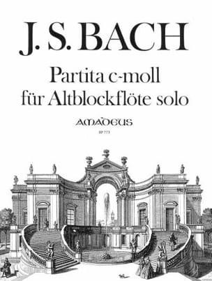 Partita C-Moll BWV 1013 - Altblockflöte Solo BACH laflutedepan