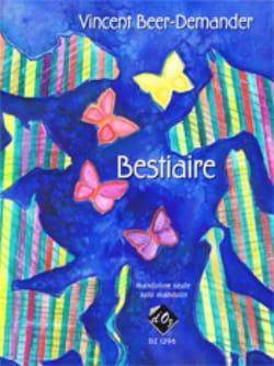 Bestiaire Vincent Beer-Demander Partition Mandoline - laflutedepan