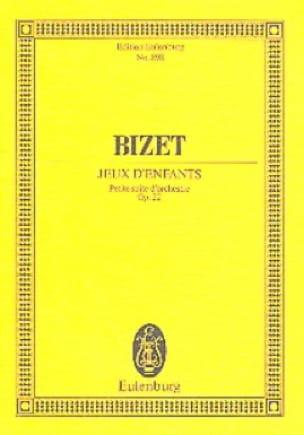 Jeux d'enfants Op. 22 - BIZET - Partition - laflutedepan.com